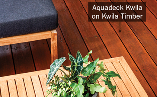 Aquadeck Kwila Deck and Timber Furniture