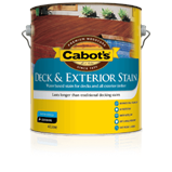 Cabot's Deck & Exterior Stain Water-Based